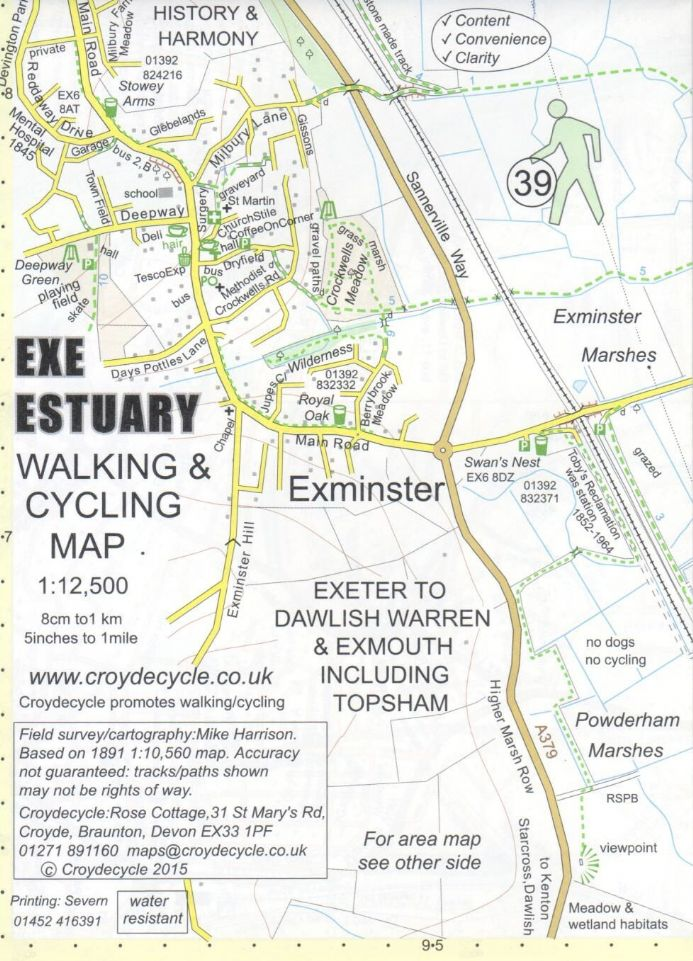 Exe Estuary Walking & Cycling